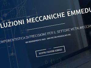 Nuovo sito Soluzioni Meccaniche Emmedue