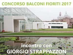 Concorso Balconi Fioriti, incontro con Giorgio Strapazzon