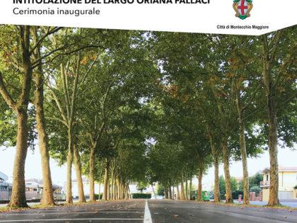 Cerimonia Inaugurale Intitolazione del Largo Oriana Fallaci