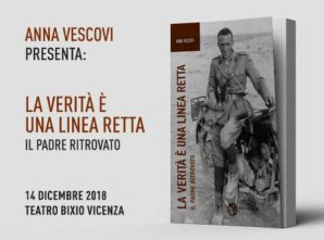 La Verità è una linea retta: Anna Vescovi presenta il suo libro