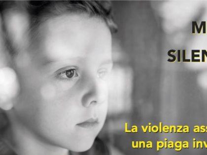 Un Muro di Silenzio – La violenza assistita, una piaga invisibile