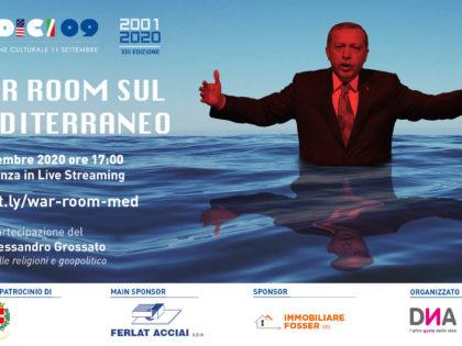 11 Settembre 2020 – War Room sul Mediterraneo